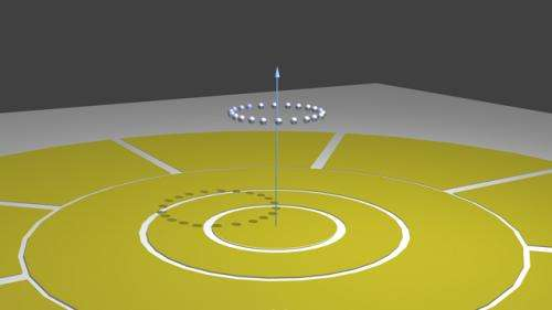 Ion Ring for Time Crystal Experiment