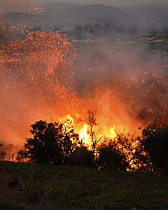 Knowing exposure risks important to saving structures from wildfires