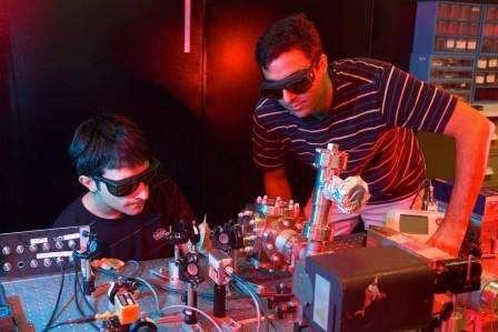 Laser tripod for better levitation