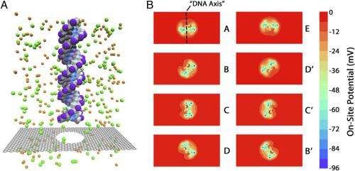 Through a nanopore, ionically: Graphene quantum transistor for next-generation DNA sensing