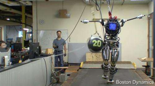 Boston Dynamics: Atlas shows balance; WildCat sprints untethered  (w/ Video)