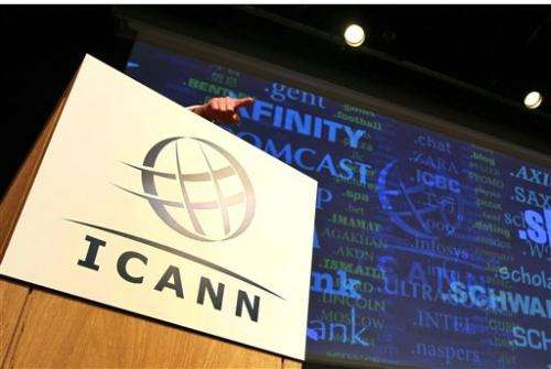 Mid-2013 expansion for Internet names targeted