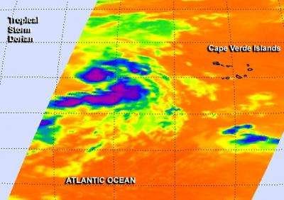 NASA puts Tropical Storm Dorian in the infrared spotlight