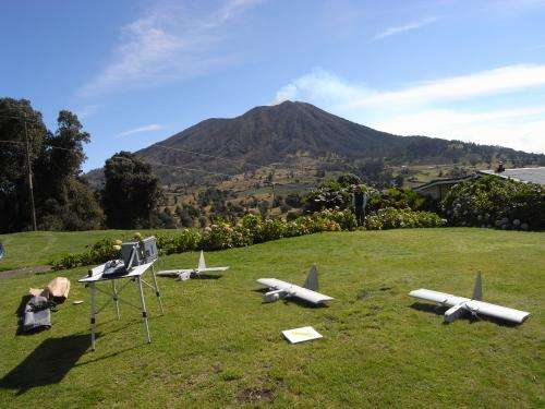NASA Sends Unmanned Aircraft to Study Volcanic Plume