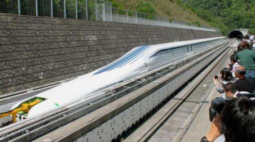 New 311mph maglev train in Japan passes initial tests