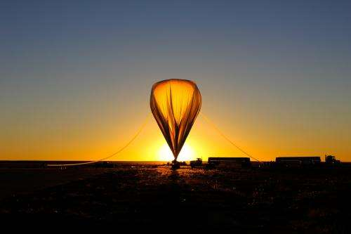 New climate-studying imager makes first balloon flight