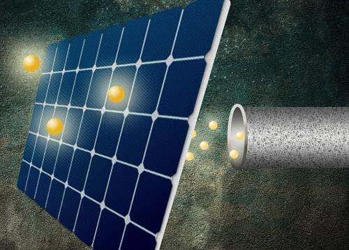 New coating could enable major boost in solar-cell efficiency