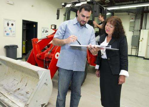 New steering tech for heavy equipment saves fuel, ups efficiency