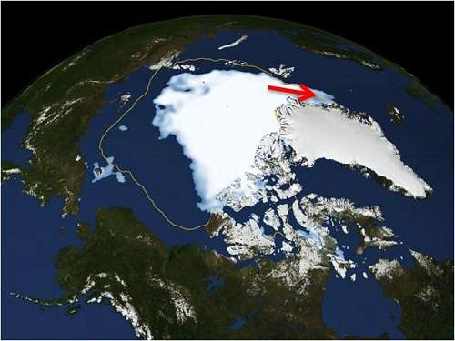 New study uses CMIP5 historical simulations to find out more about Arctic sea ice decline and ice export