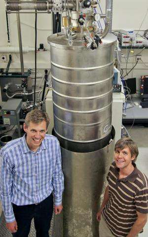 NIST physicists 'entangle' microscopic drum's beat with electrical signals
