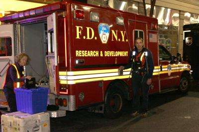 NIST tests in New York City suggest how to improve emergency radio communications