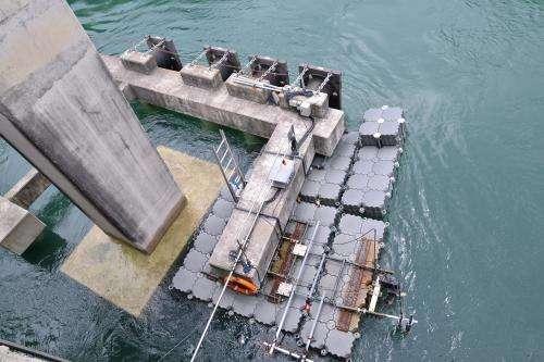NTU and Sentosa launch Singapore's first tidal turbine system at Sentosa Boardwalk