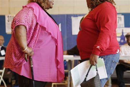 Obesity remains very high in 13 US states