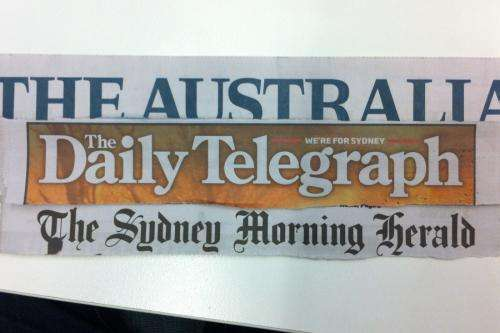 One third of Australia's newspapers still biased on climate change