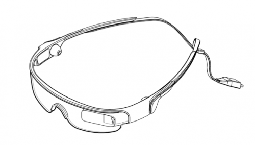 Patent shows Samsung's rival to Google Glass