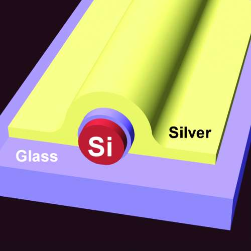 Penn engineers enable 'bulk' silicon to emit visible light for the first time