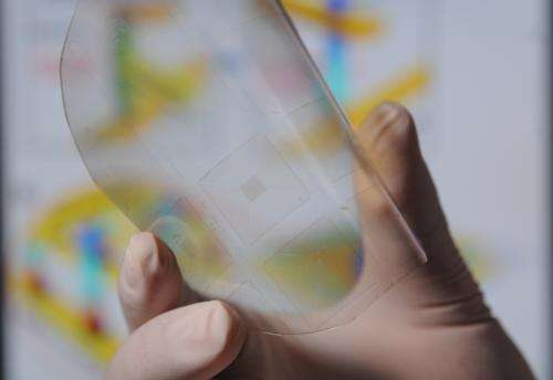 Piezoelectric 'taxel' arrays convert motion to electronic signals for tactile imaging