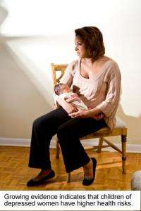 Postpartum depression prevalent in under-developed countries, could impact baby health and mortality