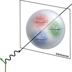 Quarks' spins dictate their location in the proton