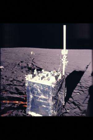 Rediscovered Apollo data gives first measure of how fast moon dust piles up