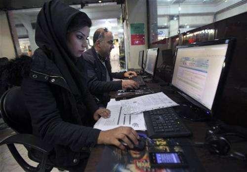 Report: Iran blocks VPN access to Gmail, Yahoo
