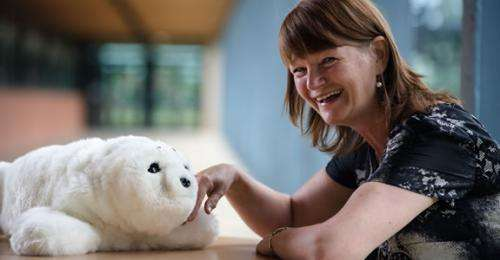 Robo-pets may contribute to quality of life for those with dementia