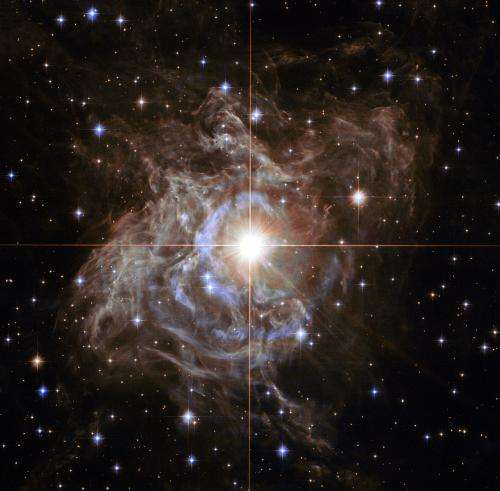 RS Puppis puts on a spectacular light show