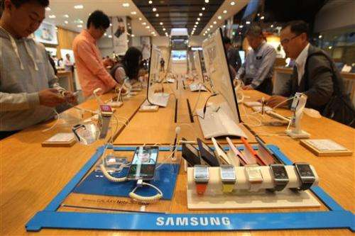 Samsung reports record-high profit for 3Q
