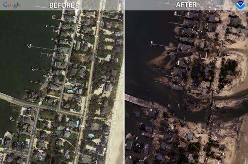 Sandy's lessons include: Put parks, not houses, on the beach