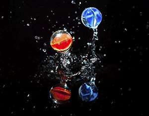 Smart materials: Fused liquid marbles show their strength