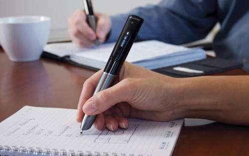 Smartpen takes handwritten notes into mobile, cloud era