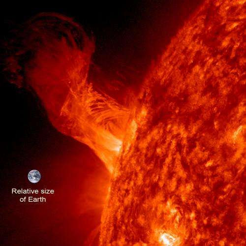 Solar ballet on the Sun