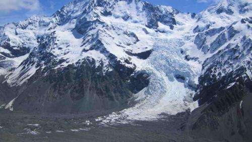 Southern Alps glaciers reducing rapidly