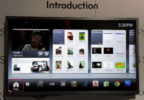 "South Korea's LG Electronics is to correct a ""bug"" on some of its smart TVs after admitting they send information abou"