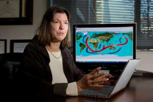 'Stadium waves' could explain lull in global warming
