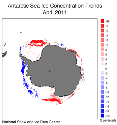 Stronger winds explain puzzling growth of sea ice in Antarctica