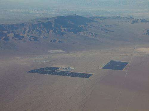 Study shows wind and solar plant benefits vary by location