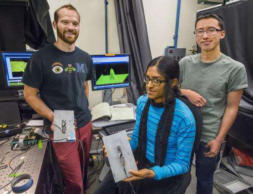 Tetrapod nanocrystals light the way to stronger polymers