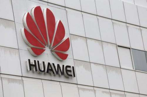 The Chinese tech giant Huawei building in Shenzhen on April 7, 2013