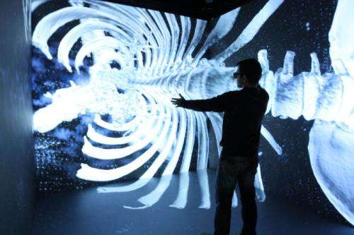 The UPC builds a new high-performance cave automatic virtual environment that functions with gesture recognition