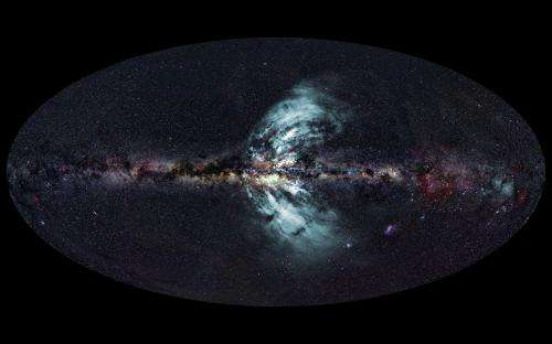 Our galaxy's 'geysers' are towers of power