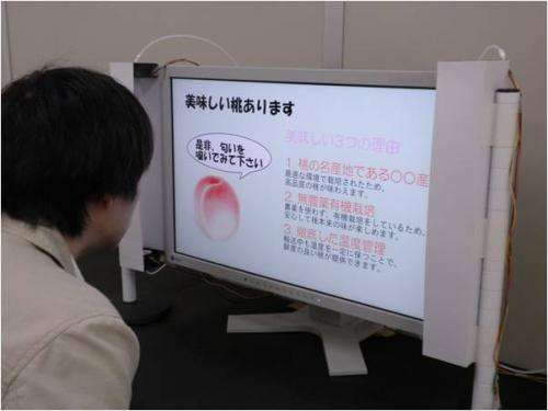 Tokyo smelling-screen demo lets scents go virtual