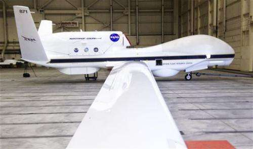 US announces 6 test sites for drone aircraft
