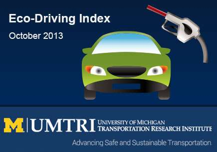 Vehicle fuel economy up in October
