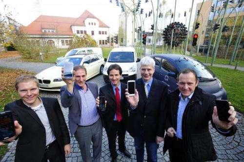 Virtual electromobility in Munich