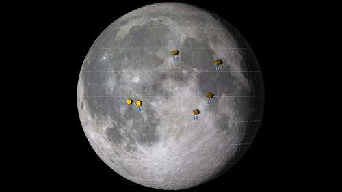 Watch all six Apollo Moon landings at once