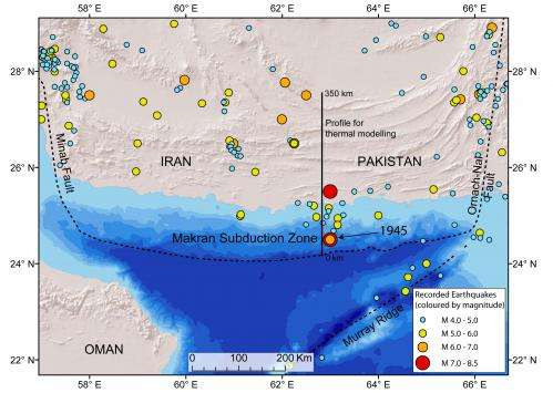 Western Indian Ocean earthquake and tsunami hazard potential greater than previously thought