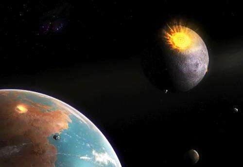 What craters on the Moon teach us about Earth