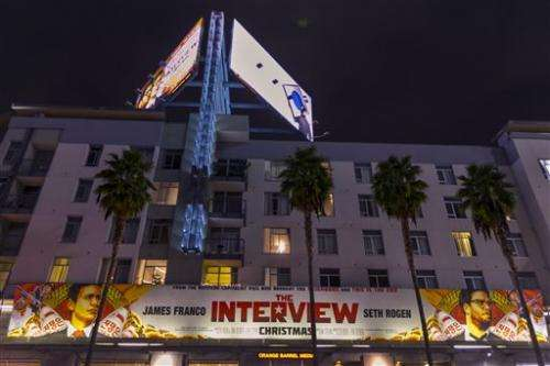 2012 movie massacre hung over 'Interview' decision