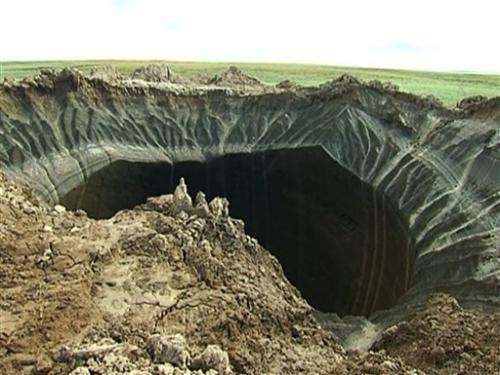 66-yard crater appears in far northern Siberia